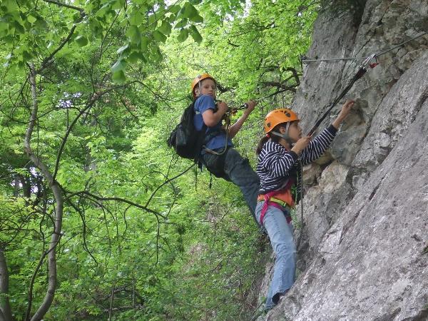 Klettersteig Niederösterreich : Klettersteig heli kraft tour