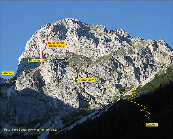 Eisenerzer Klettersteig : Topo schall verlag